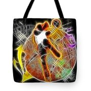 Galactic Dunk 2 Tote Bag by David G Paul