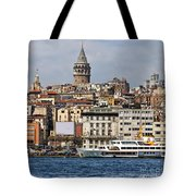 Galata Tower 03 Tote Bag