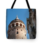 Galata Tower 03 Tote Bag