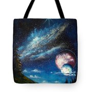 Galatic Horizon Tote Bag