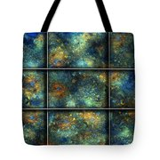 Galaxies II Tote Bag by Betsy Knapp