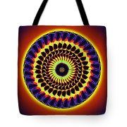 Galaxy Spotlight Kaleidoscope Tote Bag