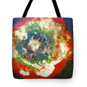 Galaxy With Solar Systems Tote Bag