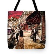 Galena Illinois Happy Shopper Tote Bag