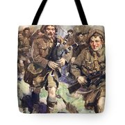 Gallant Piper Leading The Charge Tote Bag