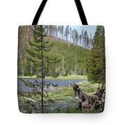 Gallatin River Yellowstone  Tote Bag