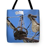 Galleon Lookout Nest Tote Bag