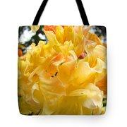 Gallery Fine Art Prints Yellow Orange Rhodies Tote Bag