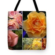 Beautiful Roses- A Collage Tote Bag