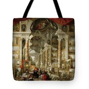 Gallery With Views Of Modern Rome Tote Bag