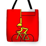 Gallopin In Yellow Tomorrow On Bastille Day Tote Bag