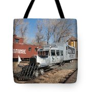 Galloping Goose 7 In The Colorado Railroad Museum Tote Bag