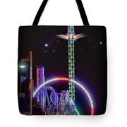 Galveston Pleasure Pier Tote Bag