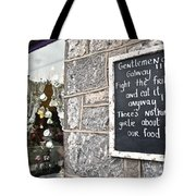 Galway Fight The Frills Tote Bag
