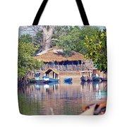 Gambian Fishing Village Tote Bag