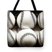Game Balls Tote Bag by John Rizzuto