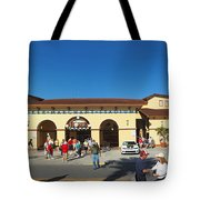 Game Day At Joker Marchant Tote Bag