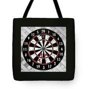 Game Of Darts Anyone? Tote Bag by Kaye Menner