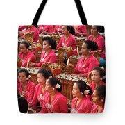 Gamelan 01 Tote Bag