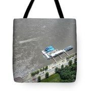 Gaming On The River Boats Tote Bag
