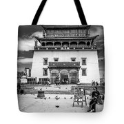 Gandantegchenling Monastery Tote Bag
