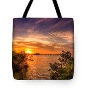 Gandy Sunset Tote Bag