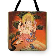 Ganesh Art Tote Bag