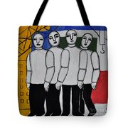 Gang Of Four Tote Bag