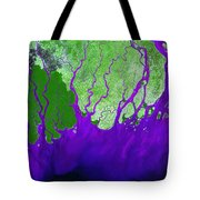 Ganges River Delta Tote Bag