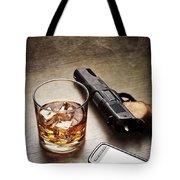 Gangster Gear Tote Bag by Carlos Caetano