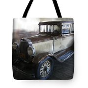 Gansgter Era Automobile Tote Bag