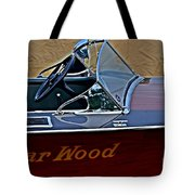 Gar Wood Boat Tote Bag