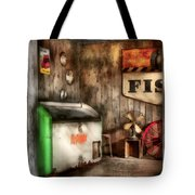 Garage - Just Behind The Garage Tote Bag