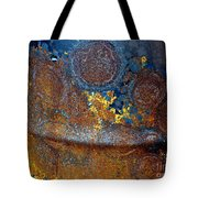 Garbage Can Abstract Tote Bag