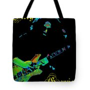 Garcia Rocks At Winterland 1977 Tote Bag