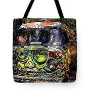 Garcia Vw Bus Tote Bag