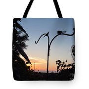 Garden At Dusk Tote Bag