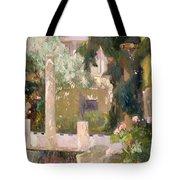 Garden At The Sorolla House Tote Bag