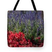 Garden At Yonah Mountain Tote Bag
