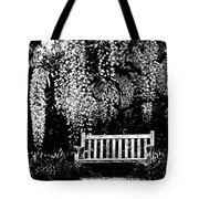 Garden Bench  By Zina Zinchik Tote Bag