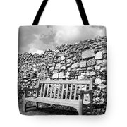 Garden Bench Tote Bag by Chevy Fleet