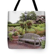 Garden Benches 6 Tote Bag
