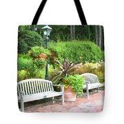 Garden Benches 7 Tote Bag