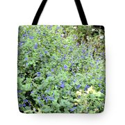 Garden Blues Tote Bag