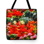 Garden Child Tote Bag