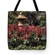 Garden Color At Woodward Park 22f Tote Bag