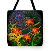 Garden Color Delight Tote Bag