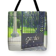 Garden Gate Tote Bag