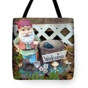 Garden Gnome - Square Tote Bag