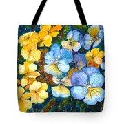 Garden Harmony Tote Bag by Zaira Dzhaubaeva